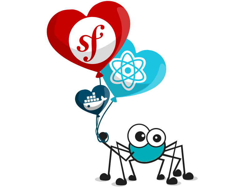 Beloved framework of API pet spider is Symfony