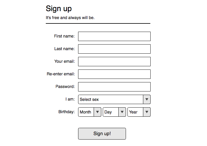 No one likes registration forms, especially extended ones