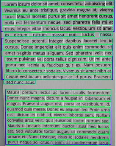 A screenshot of an exemplary text.