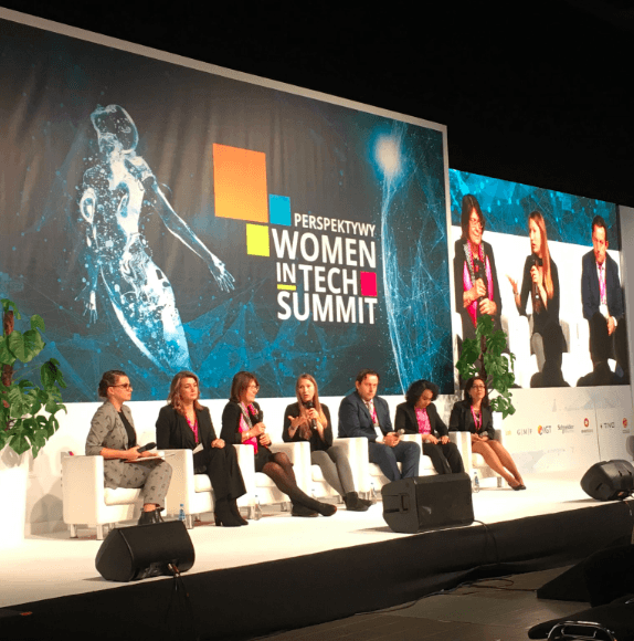 It was the first edition of Women in Tech Summit in Warsaw