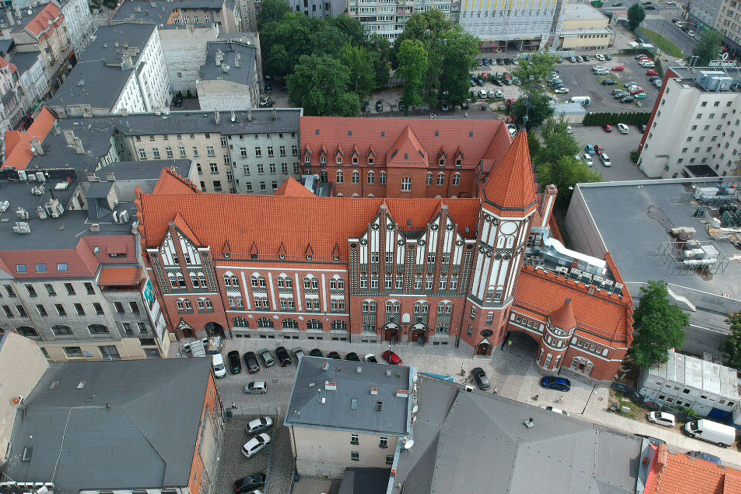 The Software House's headquarter at the Old Post Office in Gliwice