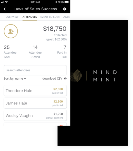 MindMint event management platform case study