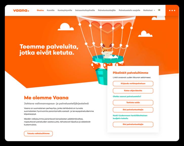 Vaana benefit platform case study