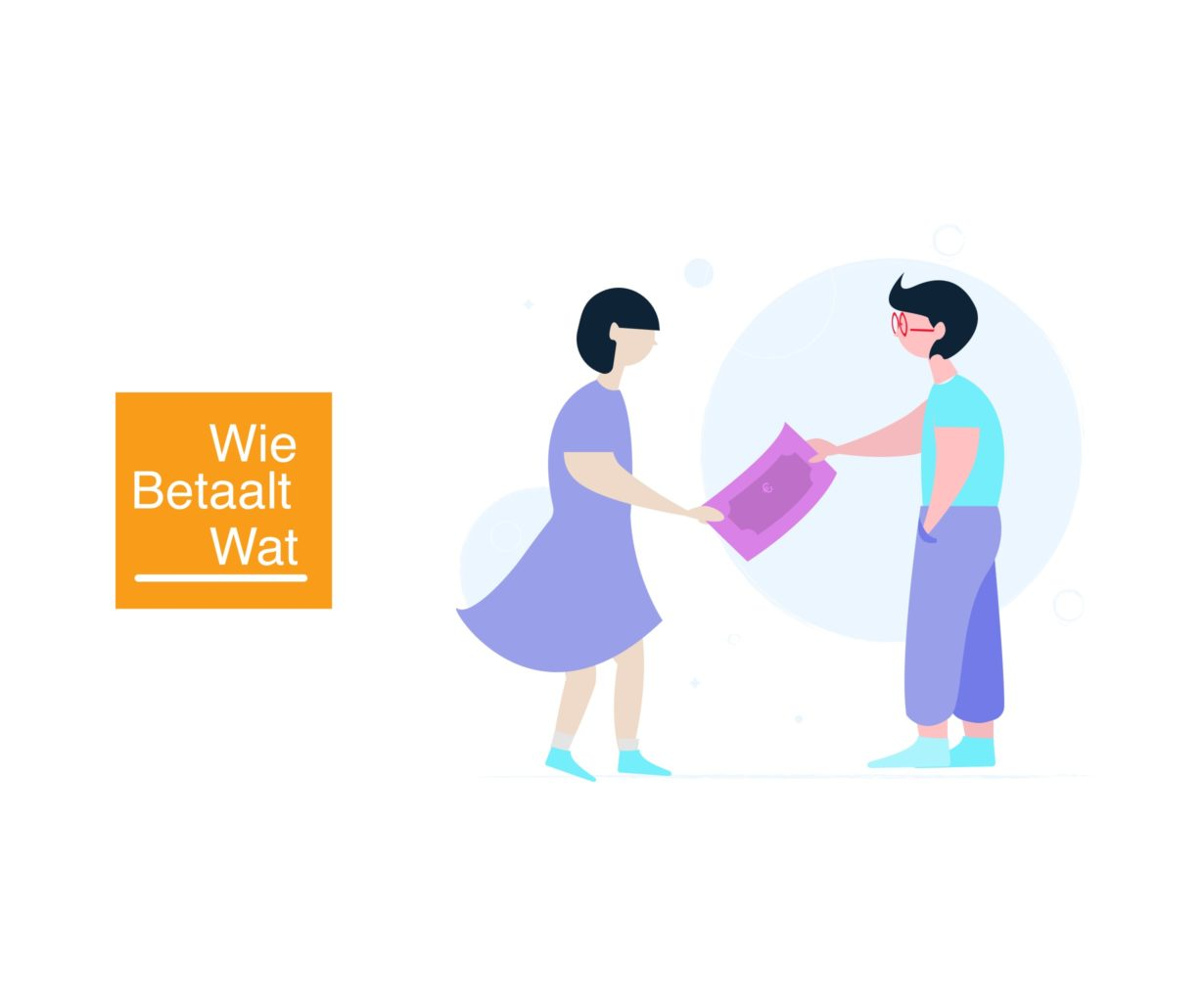 WieBetaaltWat logo