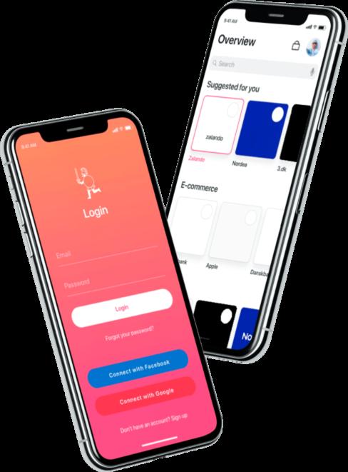 WeAreDavid personal data management mobile app case study