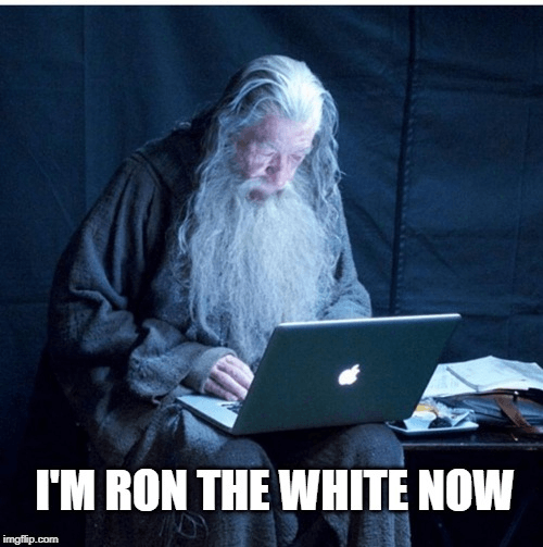 exceptions-ron-gandalf the white-meme