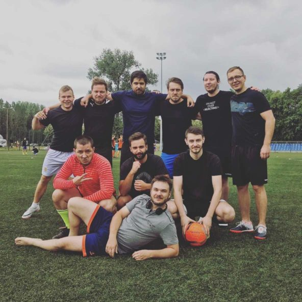 The Software House football team