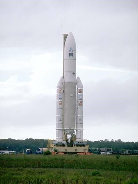 Ariane 5 rocket before Flight 501