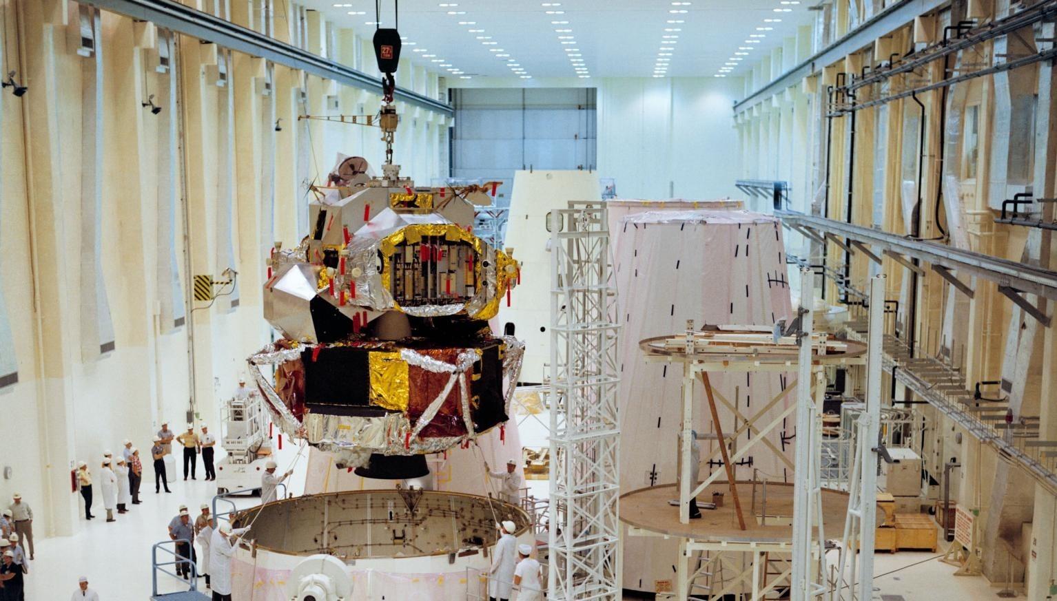 The Lunar Module of Apollo 5 mission