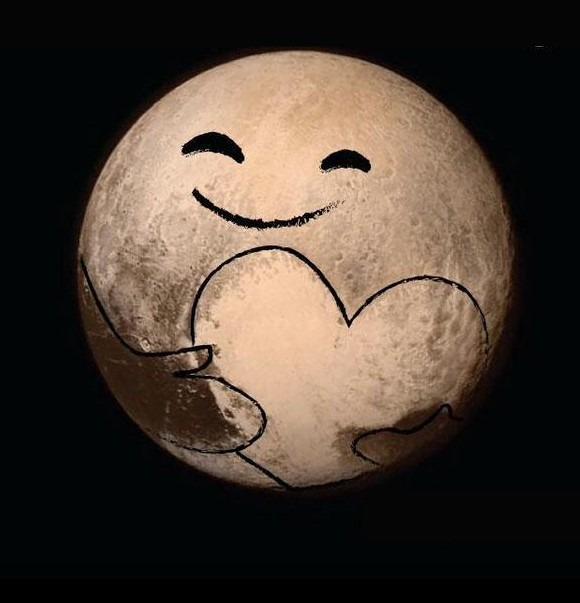 moon love heart meme