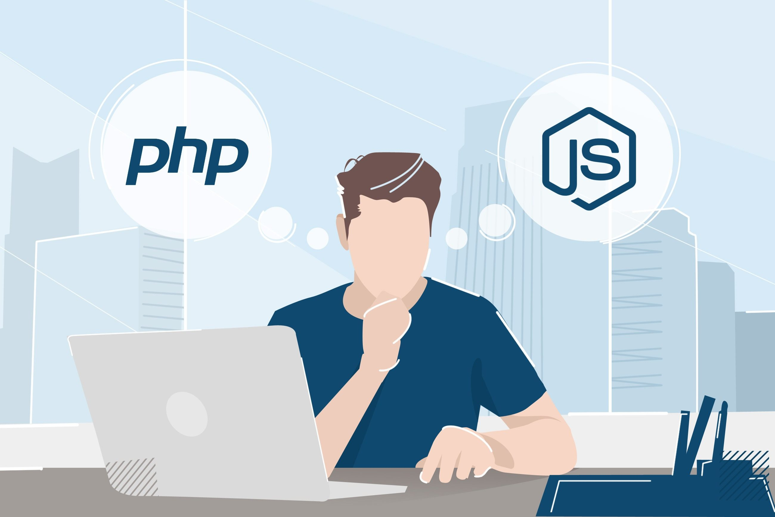 PHP vs Node.js: how to choose. CTO's guide