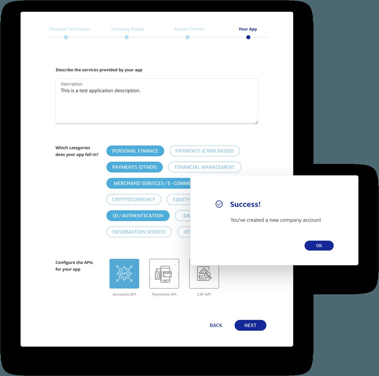 mElements development platform for banking services case study
