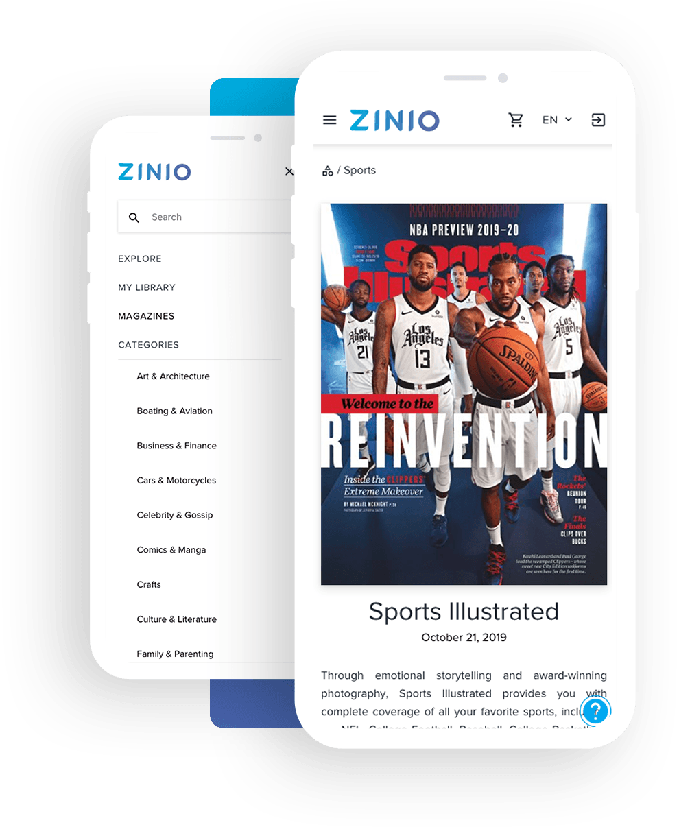 Zinio magazine subscription system case study