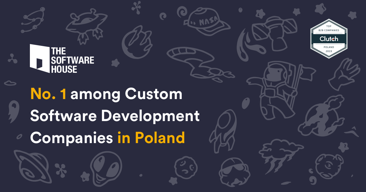The Software House is number 1 among custom software development companies in Poland as per Clutch