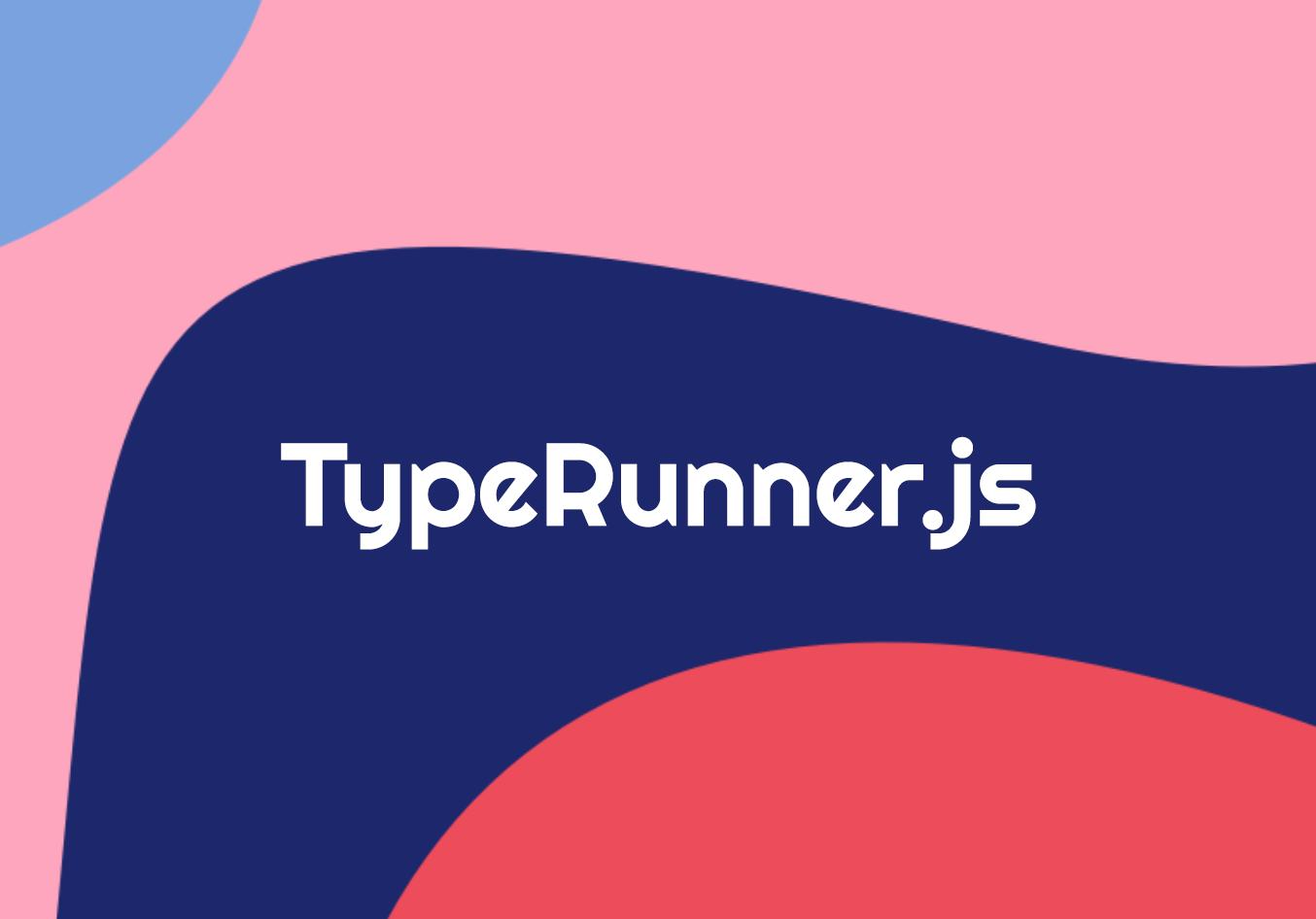 Screenshot of Typerunner.js