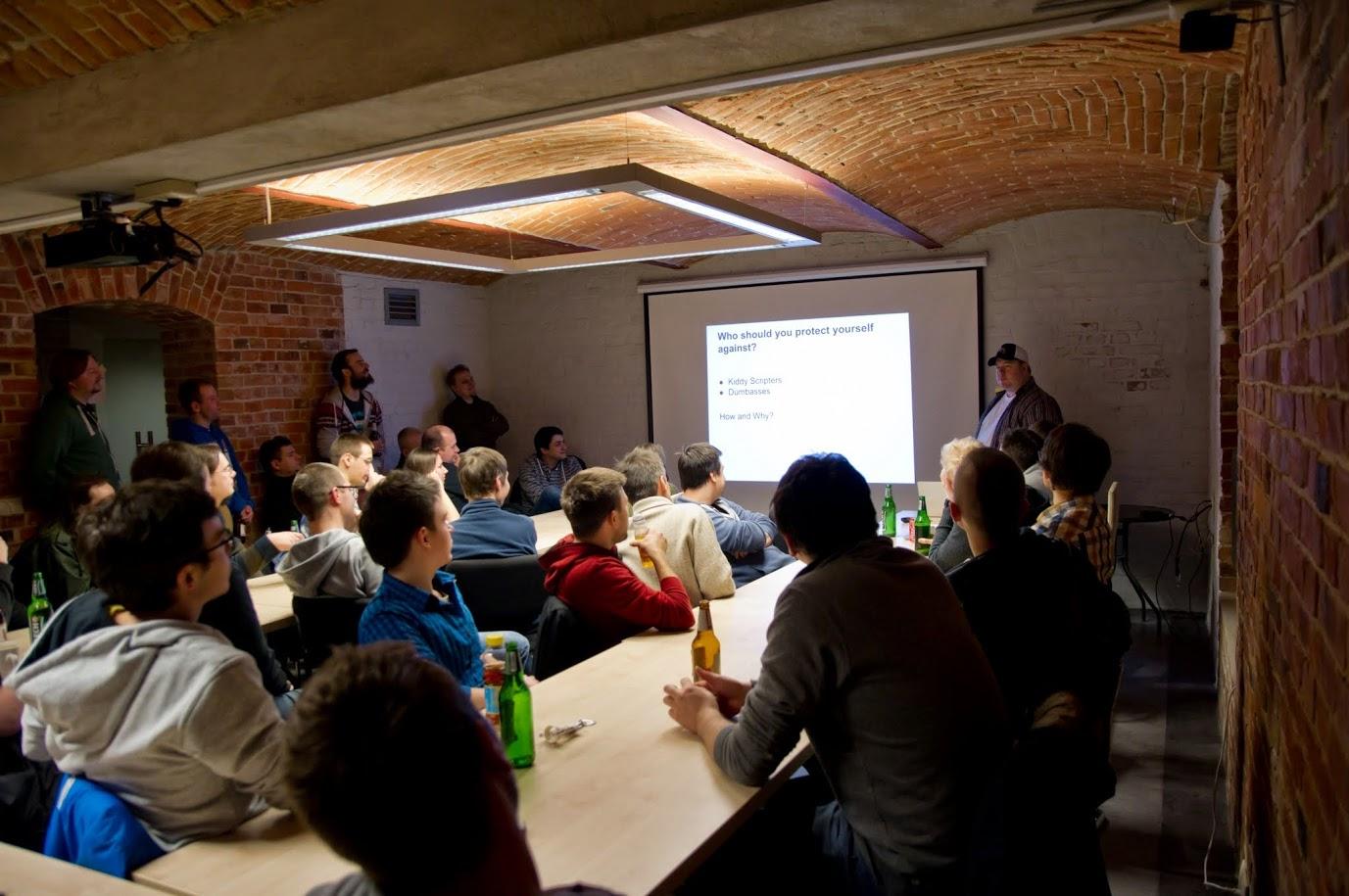 Uszanowanko Programowanko pierwszy meetup Gliwice