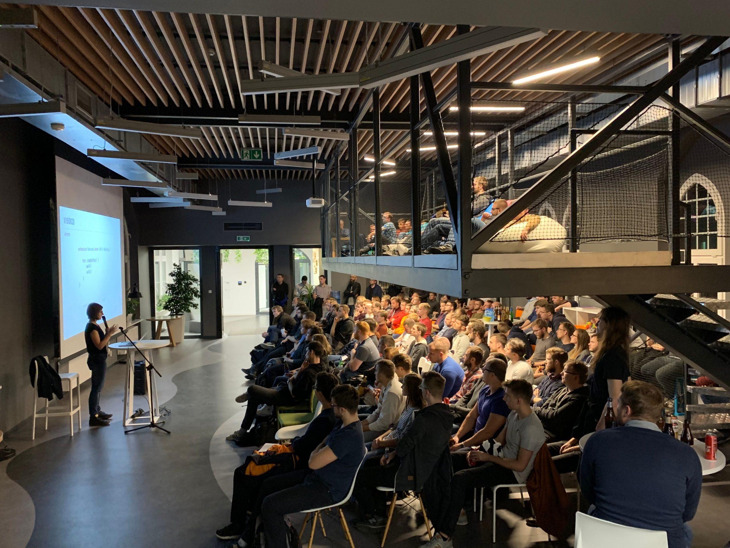 uszanowanko programowanko developer presentation local meetup