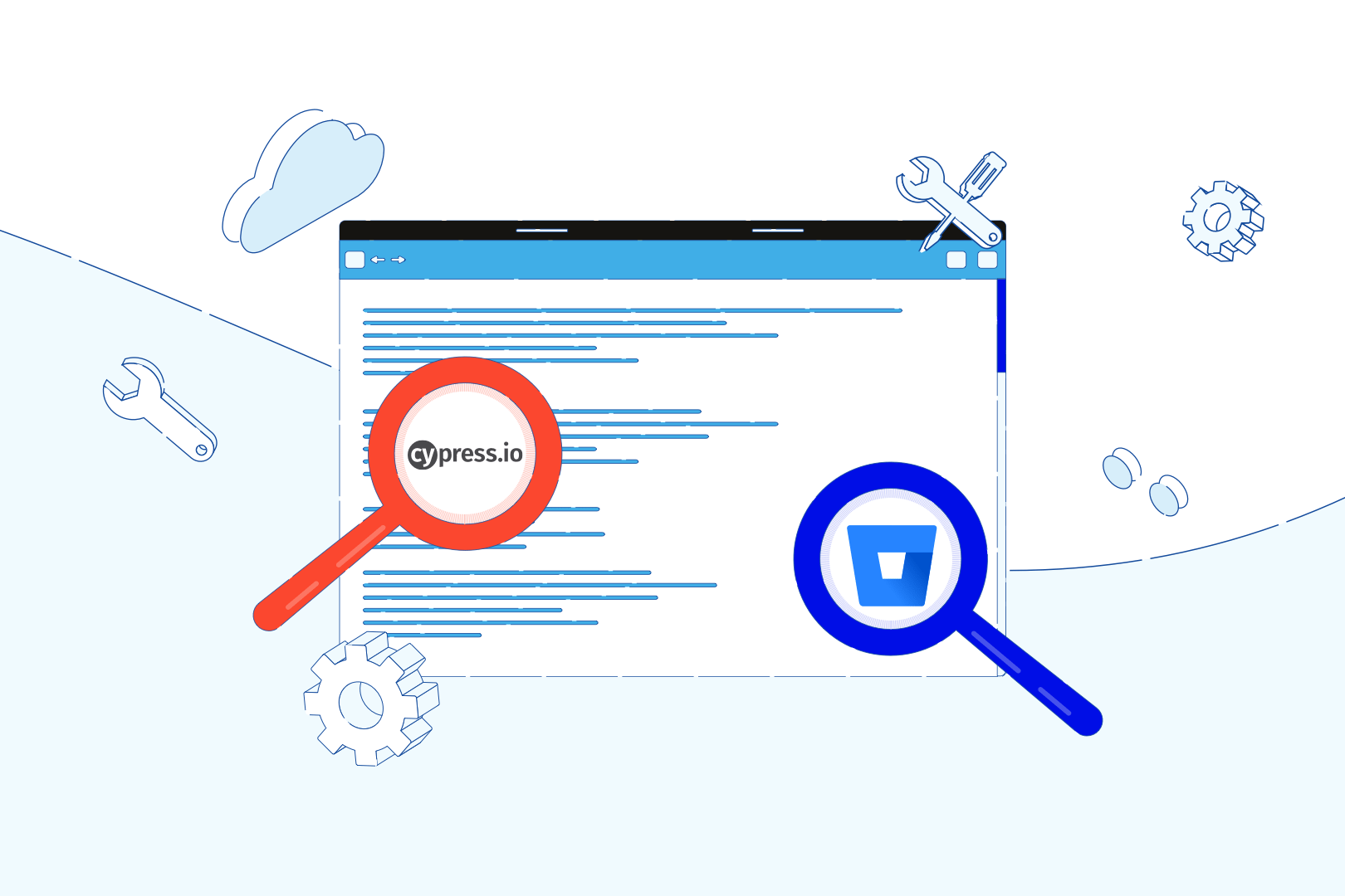 Continuous Integration for E2E tests (3/4): Bitbucket Pipelines configuration for test automation