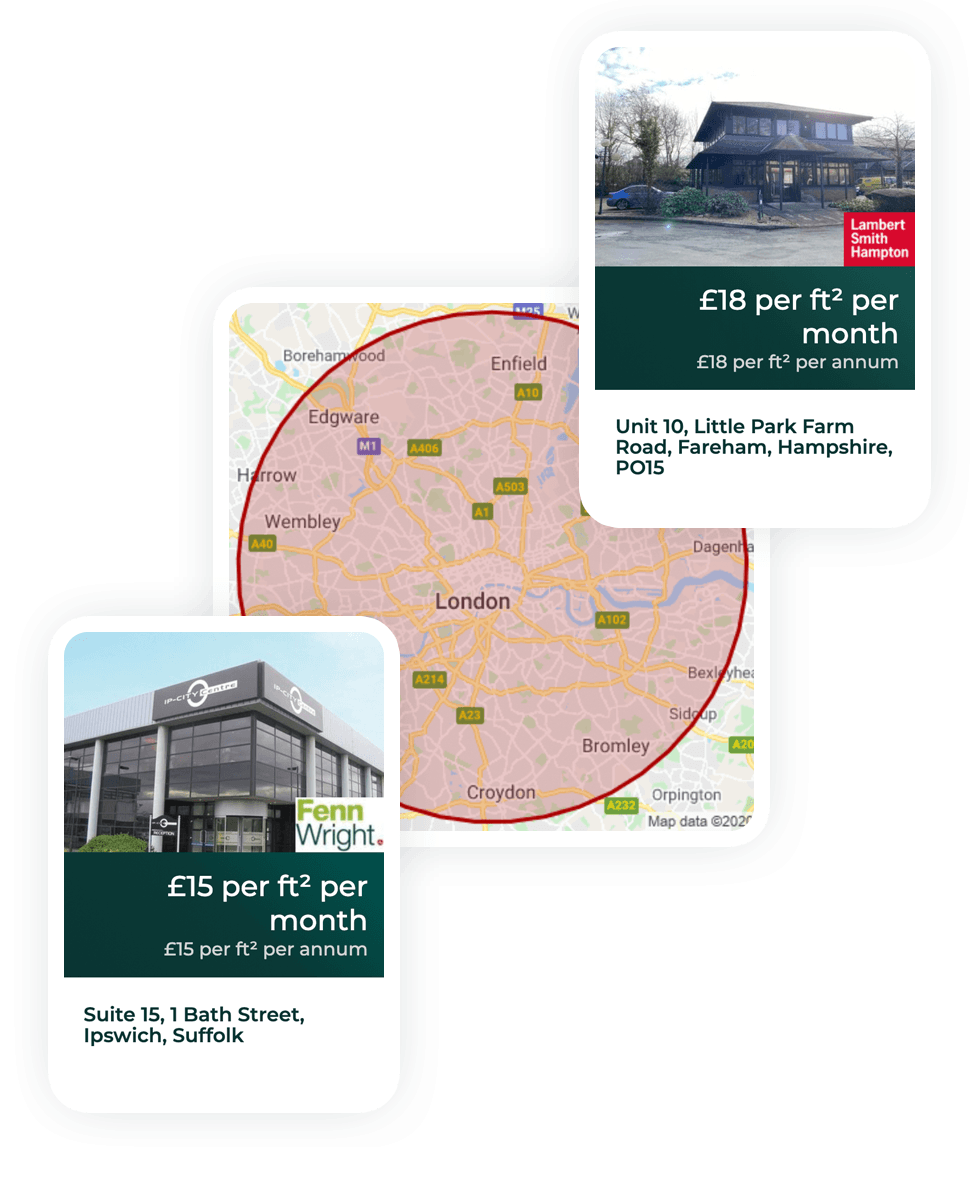 Commercial People real estate platform in the UK case study