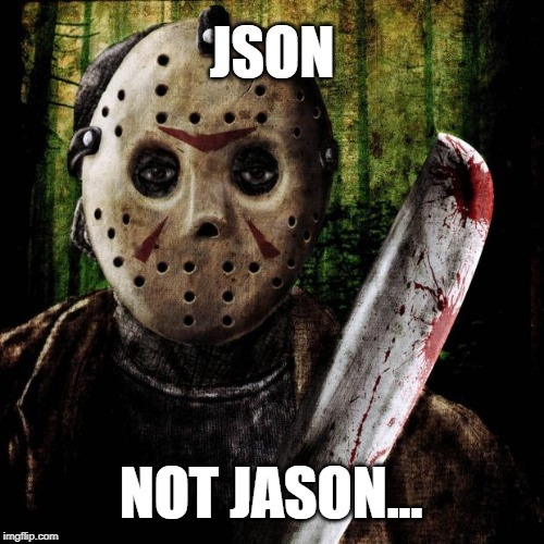 how to create API in PHP JSON meme fridy the 13th character Jason Voorhees