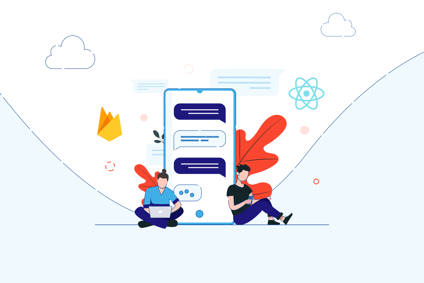 Adding cross-platform React/React Native chat to existing application – case study