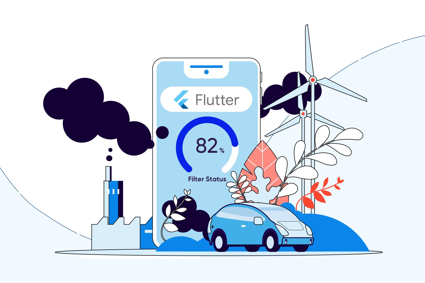 I've got some Flutter problems but my Flutter app ain't one