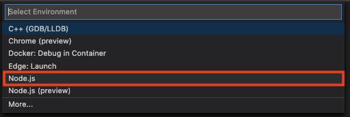 debug node js debugger