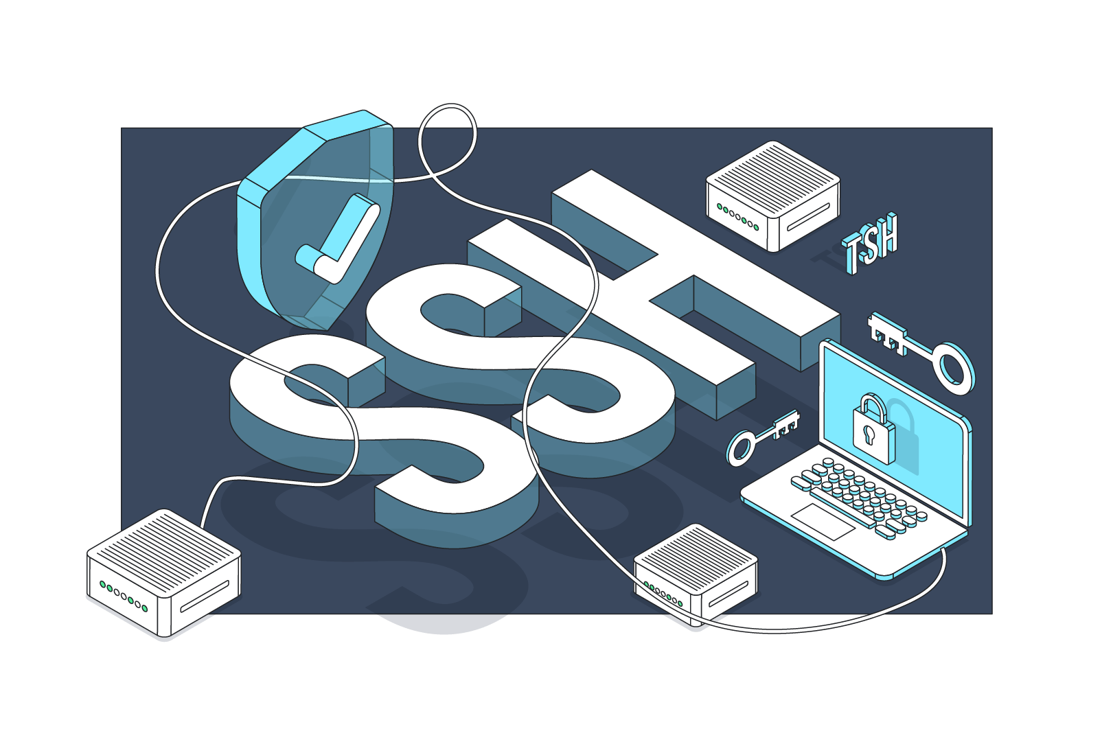 SSH tutorial – 3 tips to improve your work with SSH