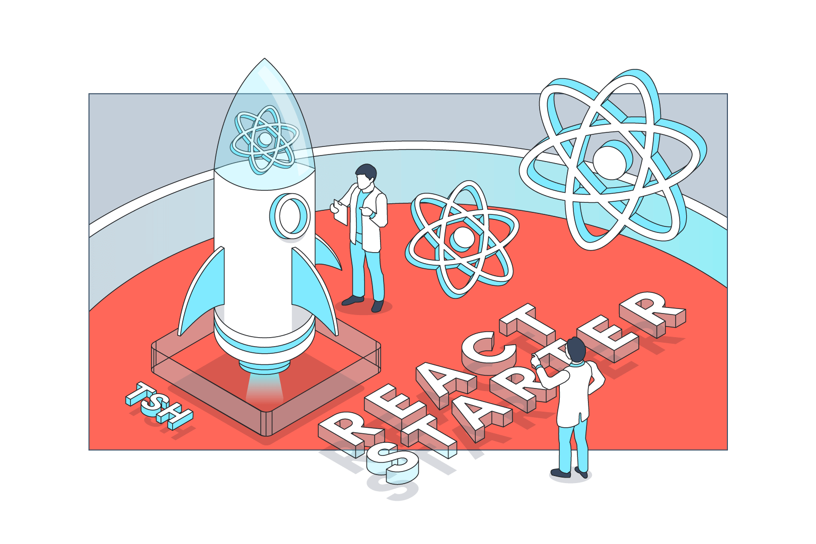 First days of a new software project? Meet React Starter kit created by TSH developers