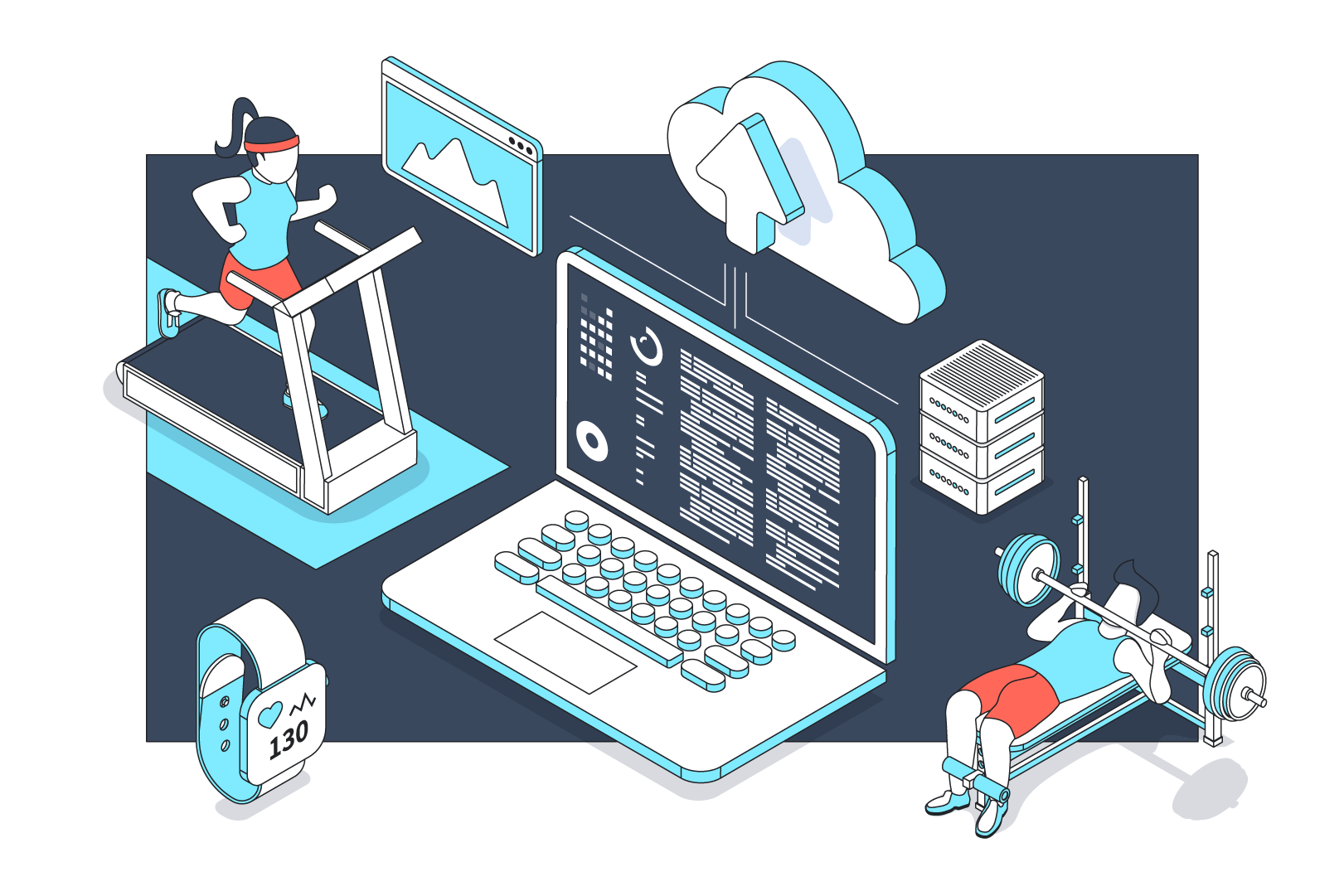 Sports Activities and Serverless – The Architecture for Data-driven Systems