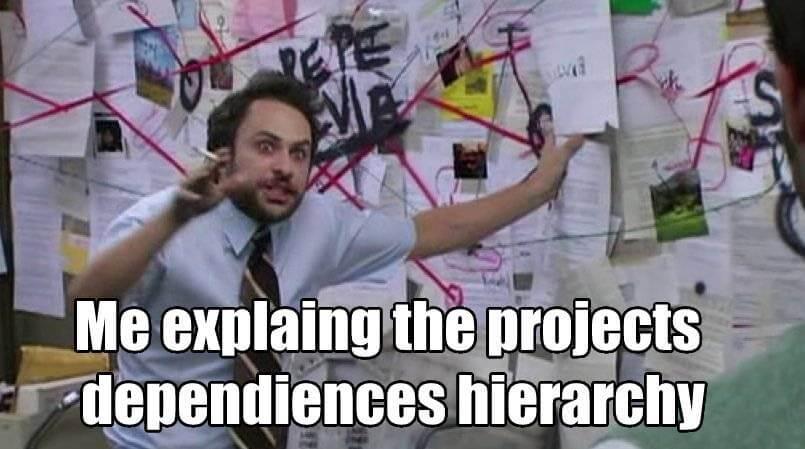 bad code practices dependencies