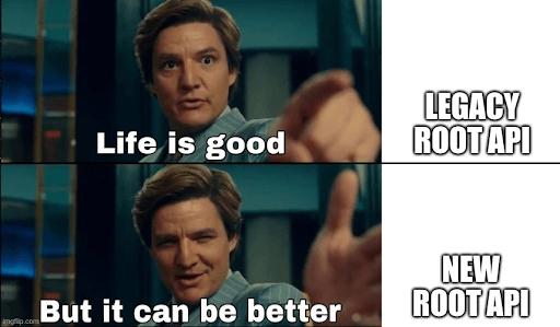 Concurrent rendering new root api meme