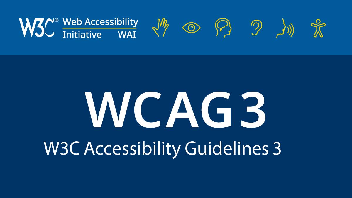 WCAG 3 Logo
